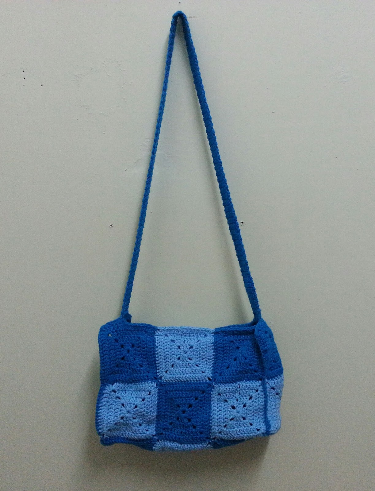 Sling bag crochet - The Final Task Was To Crochet The Strap A Bit Long For A Sling Bag I Did Single Crochet For The Whole Length So That It Is Firmer