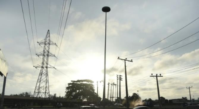 Lagos only gets about 10 percent of what it needs for electricity, leaving its 20 million or so inhabitants to their own devices. By Pius Utomi Ekpei (AFP/File)