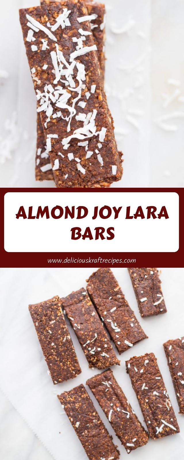 ALMOND JOY LARA BARS