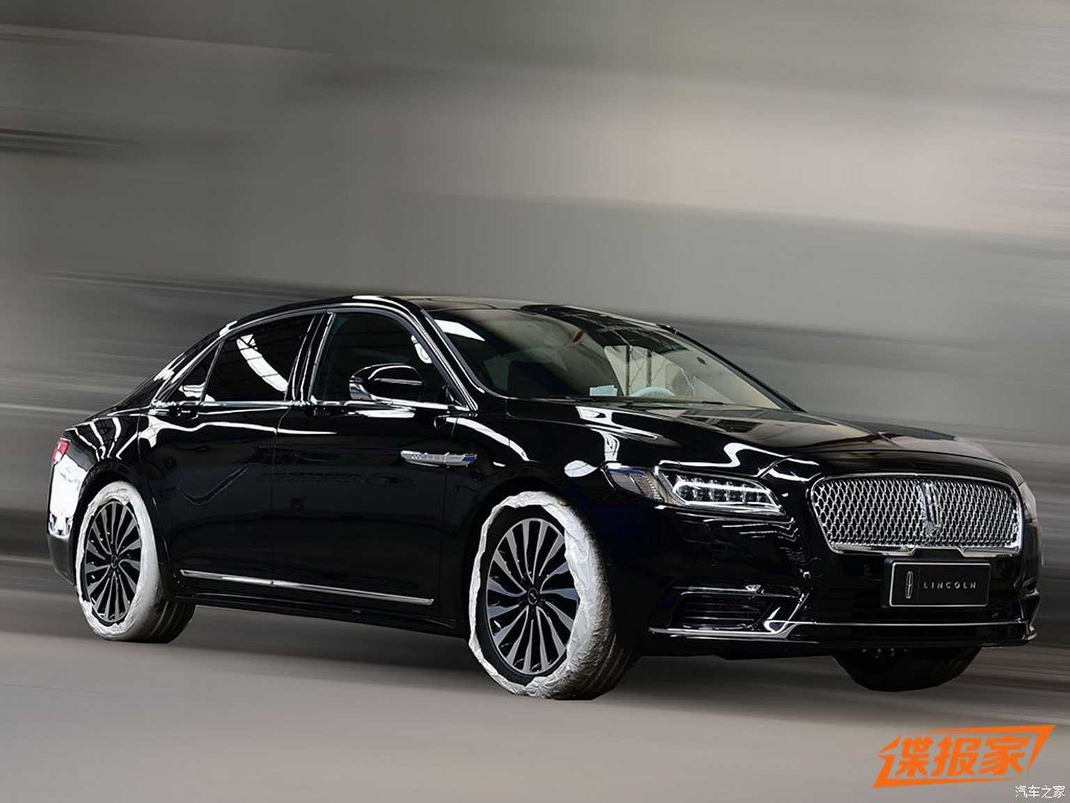 China This Is Your 2017 Lincoln Continental Presidential