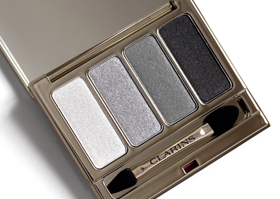 Clarins 4-Colour Grey Eyeshadow Palette 05 Smoky Spring 2017