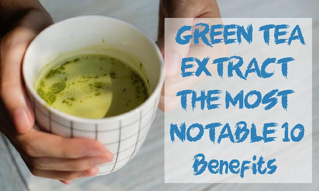 GREEN TEA EXTRACT - THE MOST NOTABLE 10 Benefits