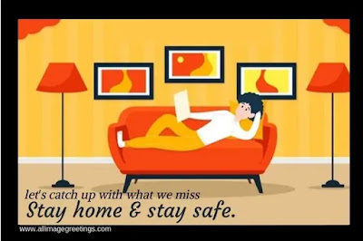 stay at home awareness image