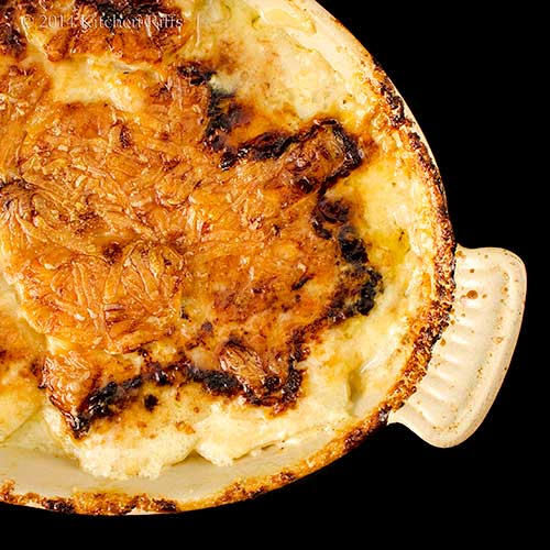 Celery Root (Celeriac) and Potato Gratin