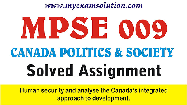 human security , the canada approach to development