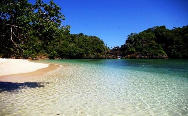 Pantai Seribu Selat, Pulau Sempu