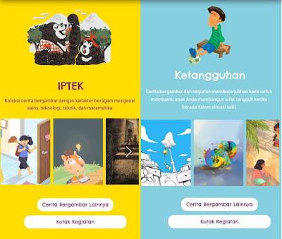 Lets Read, Perpustakaan Digital Cerita Anak Yang Bisa Didownload Gratis