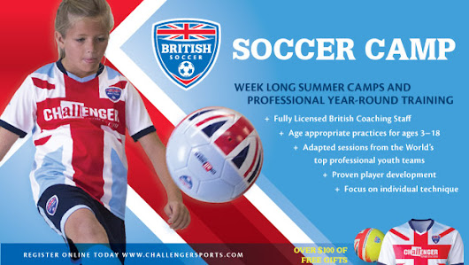 Enroll Your Child In British Soccer Camp This Summer