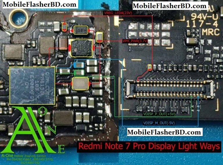 Redmi Note 7 Pro Display Light Ways – Backlight Solution
