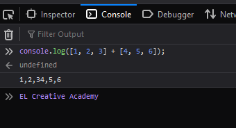 Trik 2: Menambahkan array pada JavaScript