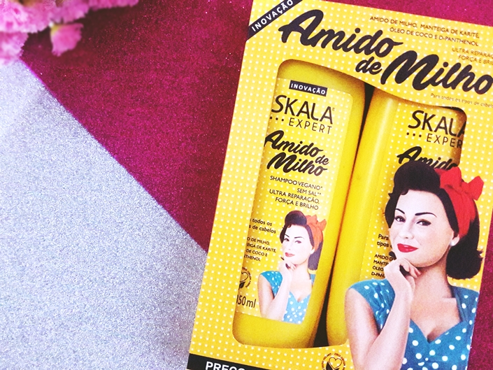 Skala Expert Amido de Milho - shampoo e condicionador
