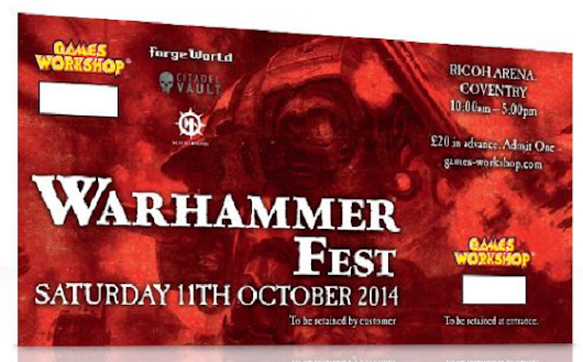 Oct 11-12: Warhammer Fest & Golden Demon