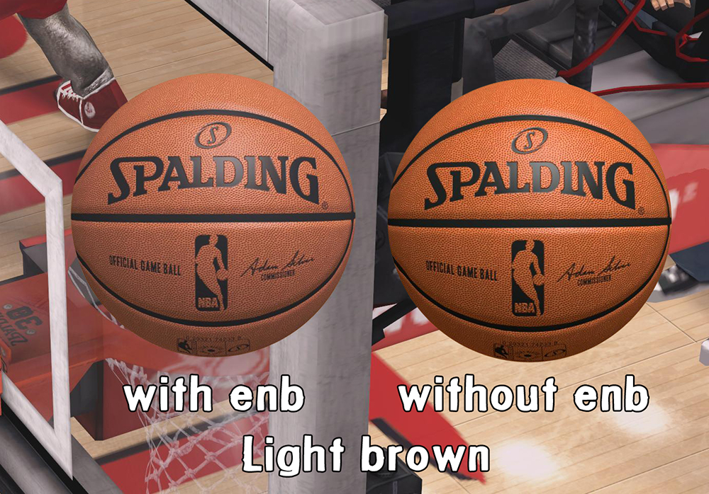 HD Spalding Ball Mod - Light Brown
