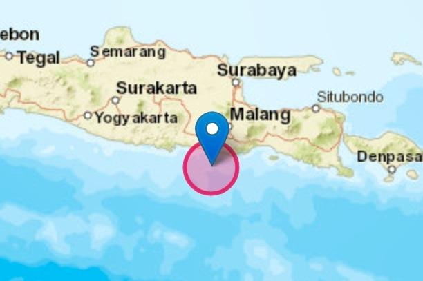 Gempa Blitar 6.2 SR dirasakan hingga Pulau Lombok