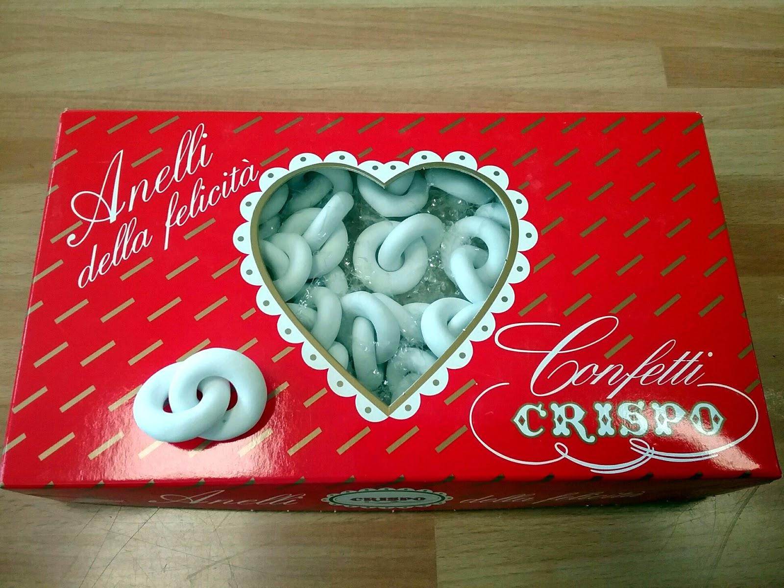 Bombonierestefan Confetti Fedi Di Cioccolato Da