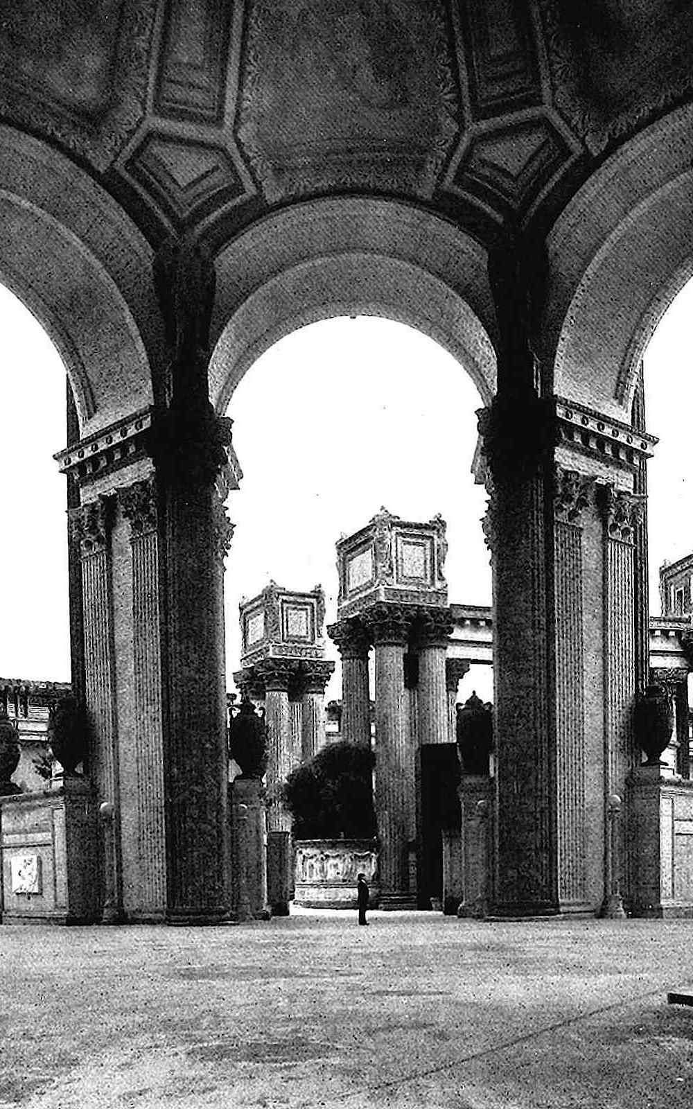 1915 pan pacific expo photo of dome