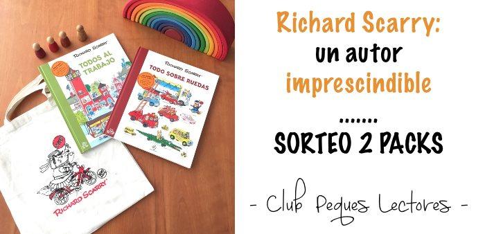 Richard Scarry libros infantiles Todo sobre ruedas, Todos al trabajo