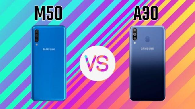 Review Hasil Foto Kamera HP Samsung Galaxy A50 VS M30