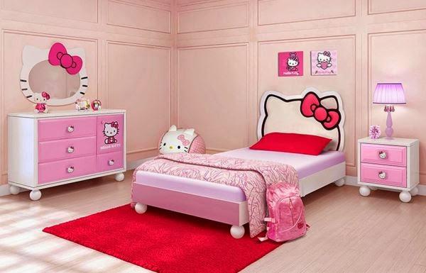 Contoh kamar tidur anak perempuan