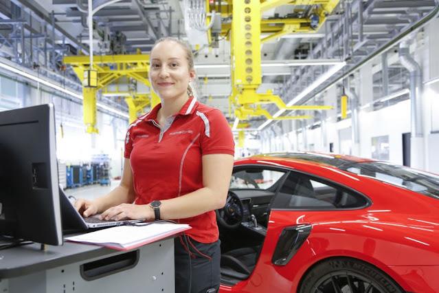العمل في شركة السيارات الالمانية بورش | Porsche AG