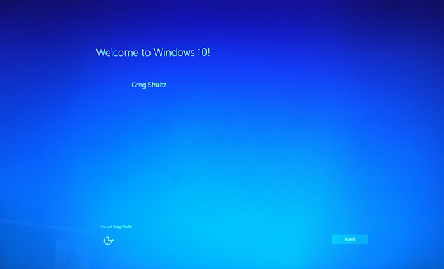 welcome windows 10 creator update