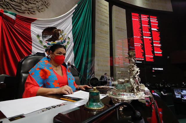 Diputados acuerdan celebrar sesión solemne por el Día Internacional de la Mujer