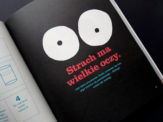 Nie bój się! Wielka księga strachu (nie tylko) dla cykorów - Nasza Księgarnia - książki dla dzieci - książki o emocjach - książki o strachu - moje dziecko boi się - jak pokonać strach i lęk dziecka
