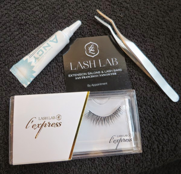 Tip: Apply strip lashes with lash tweezers; it's much easier than using your fingers to perfectly nudge the lashes into place!