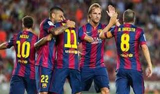 القنوات الناقلة لمباراة برشلونة وماشستر سيتي