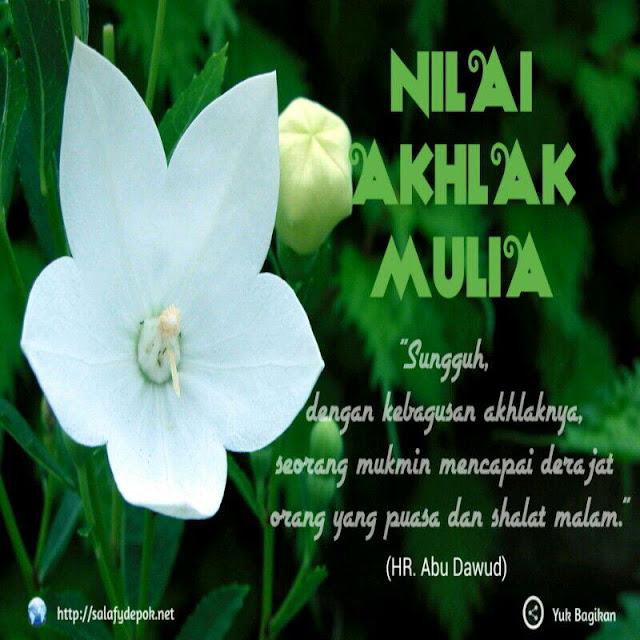 Tafsir Salaf Tentang Akhlak yang Baik