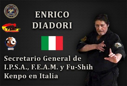 ENRICO DIADORI REPRESENTANTE OFICIAL IPSA ITALIA