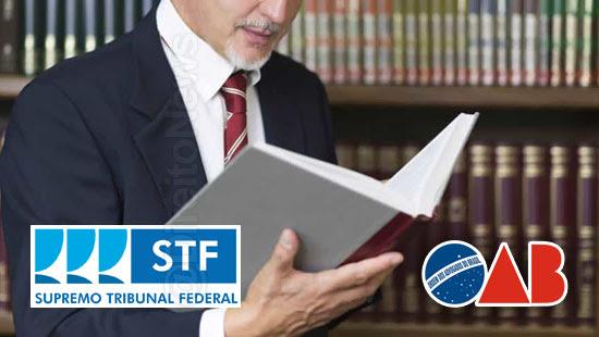 oab stf parceria biblioteca basica advogado