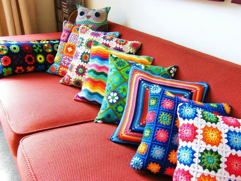 CROCHET EN LA DECORACION