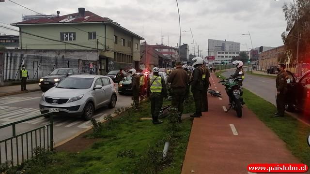 🚨Operativo de Carabineros en el centro de Osorno termina con detenidos