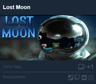 免費序號領取:Lost Moon