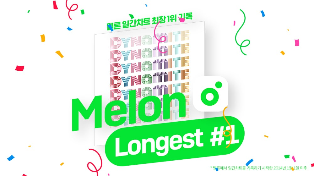 BTS' 'Dynamite' Becomes the Longest Song to Topped the Melon Chart