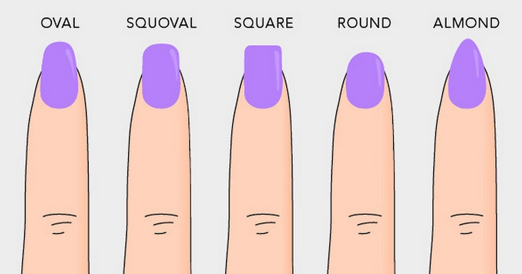 That the shape of the nails can tell about a person?