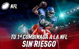 sportium promo NFL: Combinada Sin Riesgo hasta 8 septiembre 2019