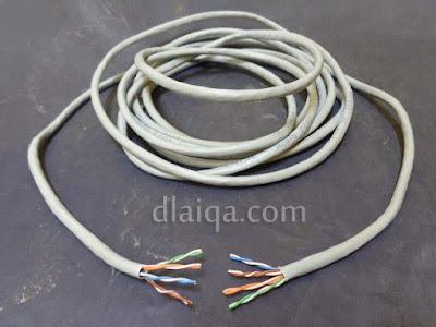 kupas ujung kabel