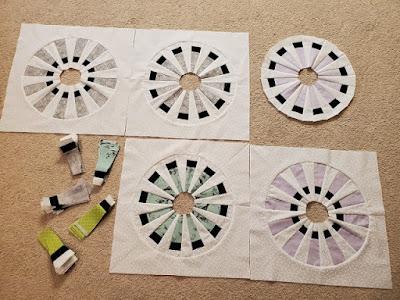 round windmill quilt blocks