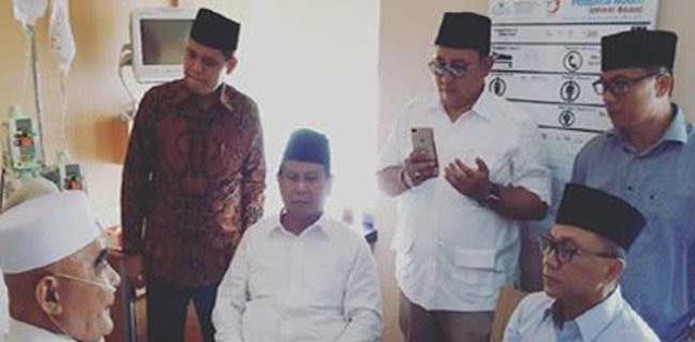 Kiai Pendoa Prabowo Presiden Itu Telah Wafat