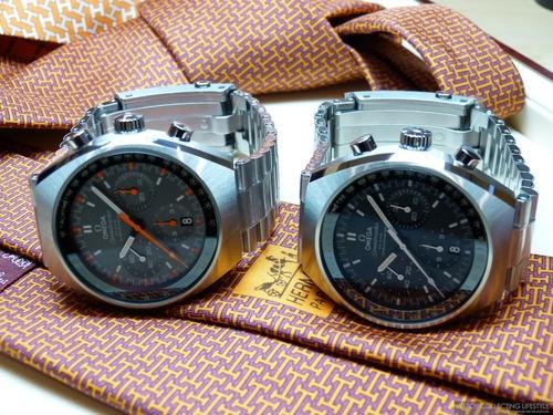 La revue de Omega Speedmaster Mark II Co-Axial Chronographe replicque