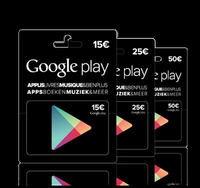 Cara Membeli Voucher Google PlayStore di Indomaret