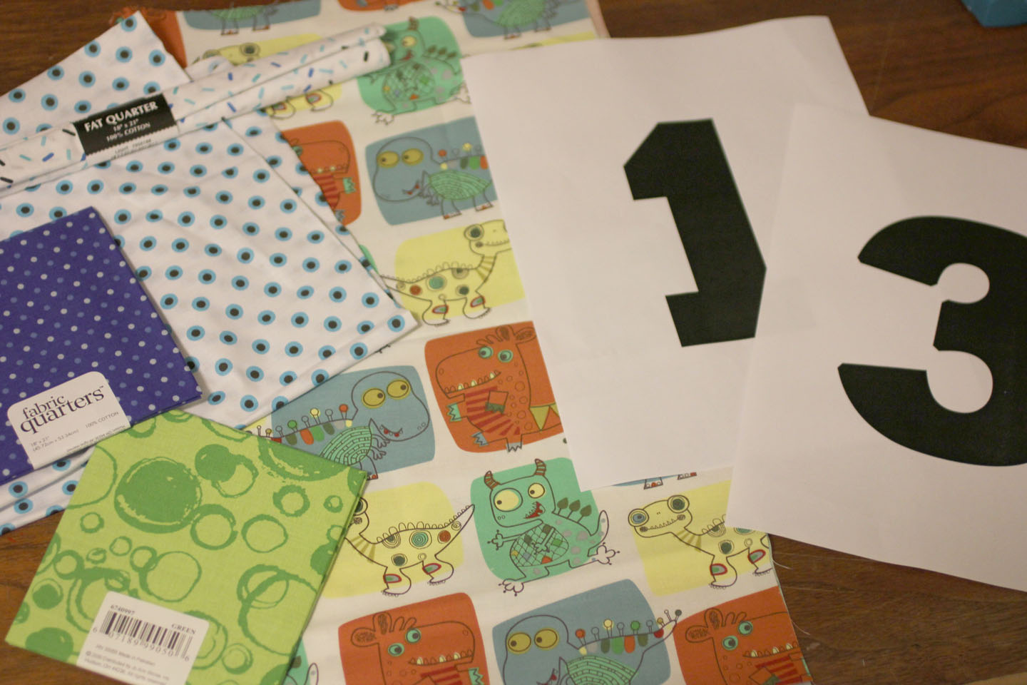 No sew birthday number shirts repeat crafter me for Monster themed fabric