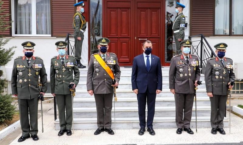Ανέλαβε καθήκοντα ο νέος Διοικητής του Δ' Σώματος Στρατού Αντιστράτηγος Άγγελος Χουδελούδης