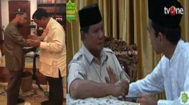 UAS dan UAH Bertemu Prabowo, BPN: Dipastikan Jokowi Kalah