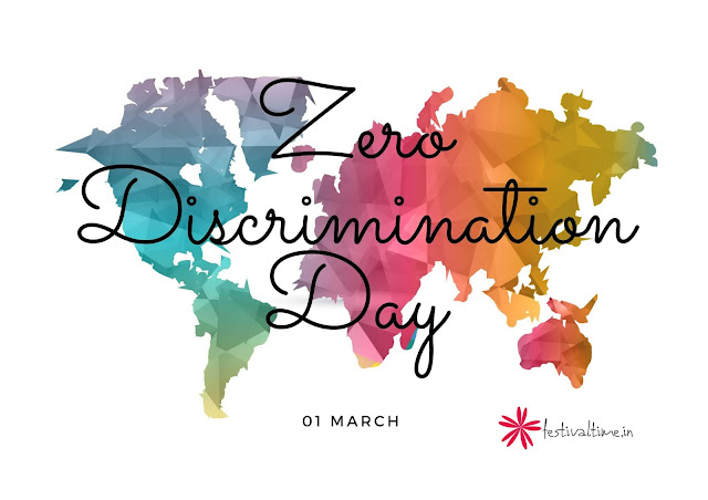 ZERO DISCRIMINATION DAY images-www.festivaltime.in