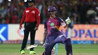Ben Stokes 103* - RPS vs GL 39th Match IPL 2017 Highlights
