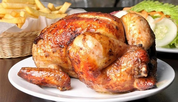 Receta de Pollo a la Brasa Casero