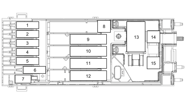 Fuse Box: 2019- 2020 Ford Transit Fuse Panel Diagram